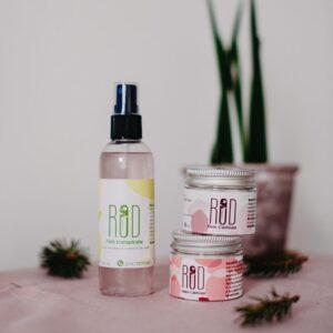 pachet antiperspirant si creme pentru piele si maini catifelate