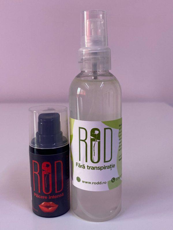 pachet Rod placere intensa + spray Rod fara transpiratie